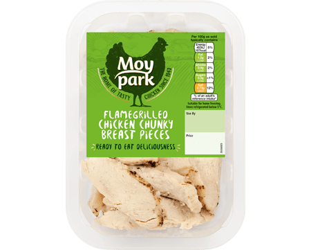 Moy Park Chicken - Flamegrilled Chicken Chunky Breast Pieces