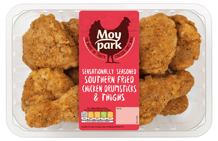 Moy Park Chicken - Southern Fried Chicken Drumsticks & Thighs